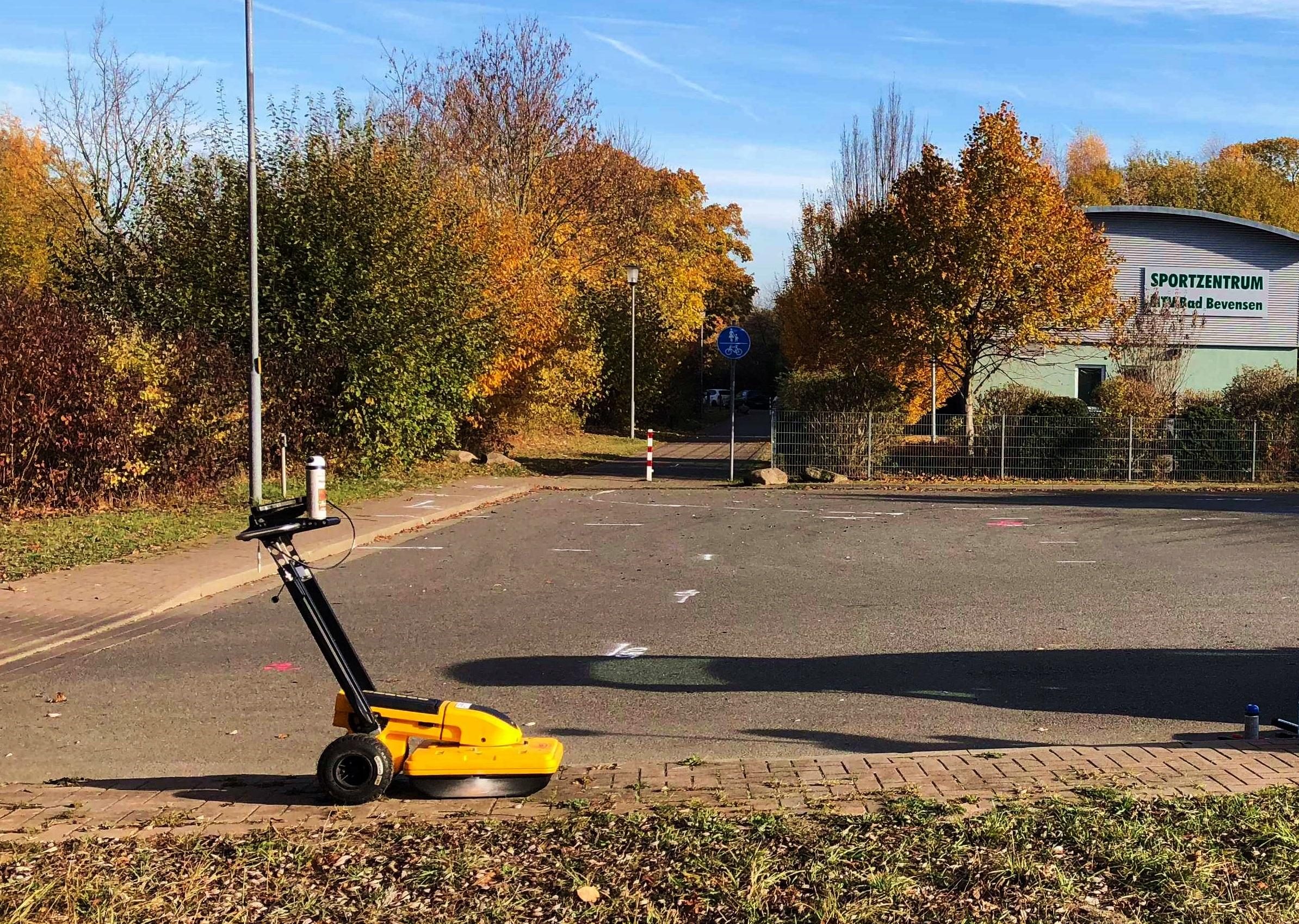 Detection of underground infrastructure in Bad Bevensen
